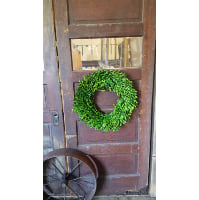 Wreath - Dried Boxwood