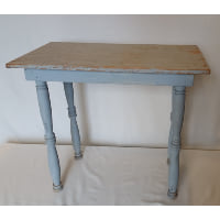 Side Table - Grey Spindle Leg