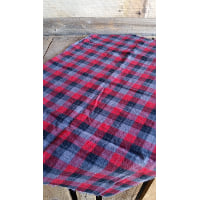 Flannel Piece - Red, Black and Grey