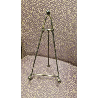 Easel - Tabletop Gold speckle black