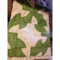 Quilt - Debbie's Grandma Green