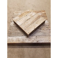 Cake Riser - Haylee barn wood medium