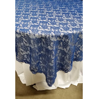 Topper - Lace Royal Blue