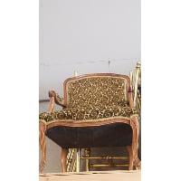 Chair - Sweet Pea Green Arm