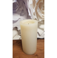 Battery Candle - WAX 8 x 4 Chubby