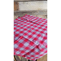Flannel Piece - Red and Grey