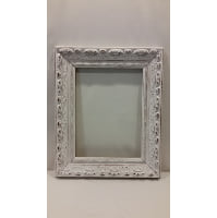 Frame - White Ornate Medium Empty