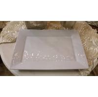 Platter - White Rectangle M