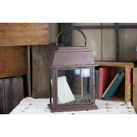 Lantern - Large Brown Rectangle