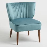 Chair - Bretta Blue Velvet