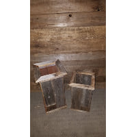 Box - Tall Planter Barn Wood