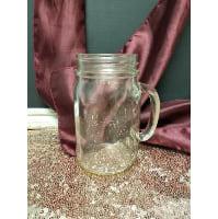 Mason Jar - Pint Handled