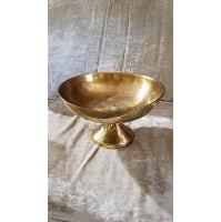 Pedestal - Brass 8.5