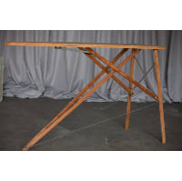 Table - Antique Wooden Ironing Board