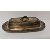 Silver - Butter Dish w/Lid