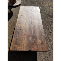 Table - 6' Dark Stained Table Top