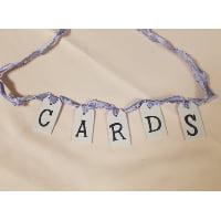 Sign - Cards Cardboard banner