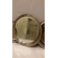 Tray - Silver Round Medium 12
