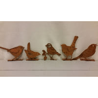 Birds - Assorted Rusty Metal