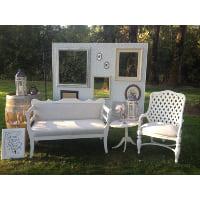 Chair - White Rattan