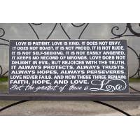 Sign - 1 Corinthians 13 small