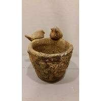 Birds - Rustic Plant Pot