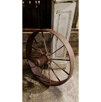 Wheel - Narrow Iron Tractor