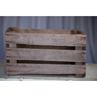 Crate - Apple Wood Box Slat Sides