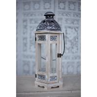 Lantern - White Wood