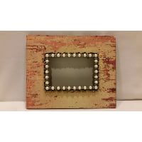 Frame - Jeweled Rustic Cream Empty