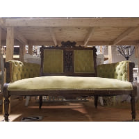 Couch - Gatsby Green Loveseat