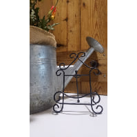 Easel - Small Black House Swirl Tabletop