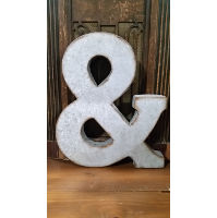 Sign - & Galvanized