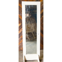 Door - Antique White 8' Full Mirror Pane