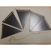 Chalkboard - Triangle bunting