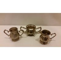 Tea Set - Mini Silver