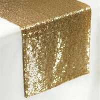 Runner - Gold sequin
