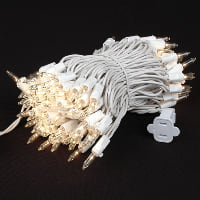 String - Twinkle Light, White Cord