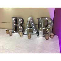 Sign - BAR light up Letters