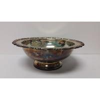 Silver - Medium Bowl with Pedestal