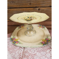Pedestal - Two Tier Octagon Bird Top