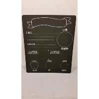 Chalkboard - Baby Milestone Chart