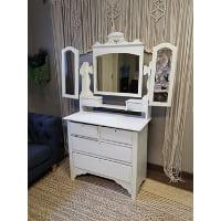 Vanity - Payton White Mirror