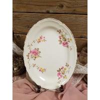 Plate - Natalie Vintage Oval