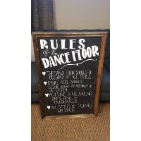 Sign - Dance rules