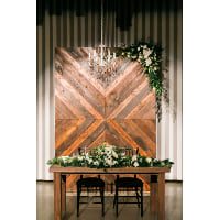 Backdrop - Diagonal Wood Wall