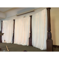 Bolt - Ivory Sheer Drape 100'