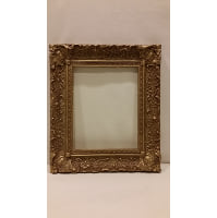 Frame - Antique Gold Empty