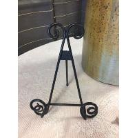 Easel - Tabletop Small Black Swirl