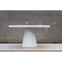 Pedestal - White Square